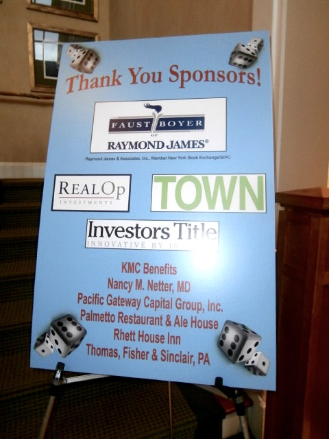 Casino Night Sponsors